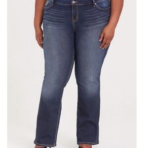 Torrid Medium Wash Relaxed Boot Bootcut Jeans